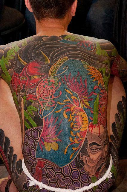 Taiwanese Full Back Artwork Singapore Tattoo Japanese Tattoo Japanese Tattoo Designs
