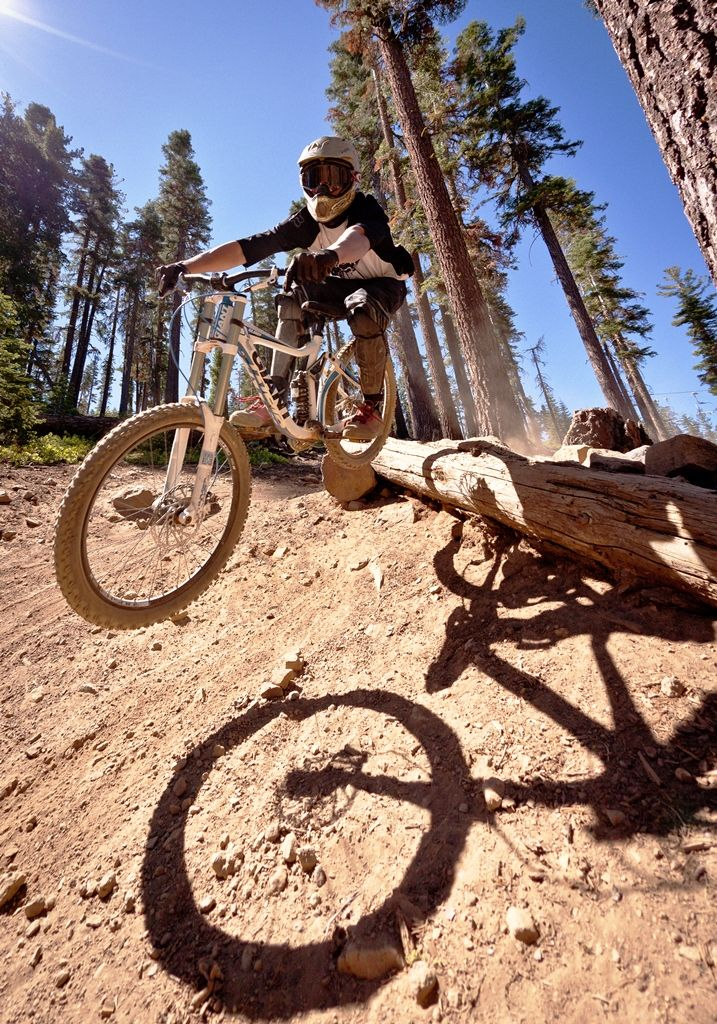 Catching Some Air In The Bike Park At Northstar Biking My Life