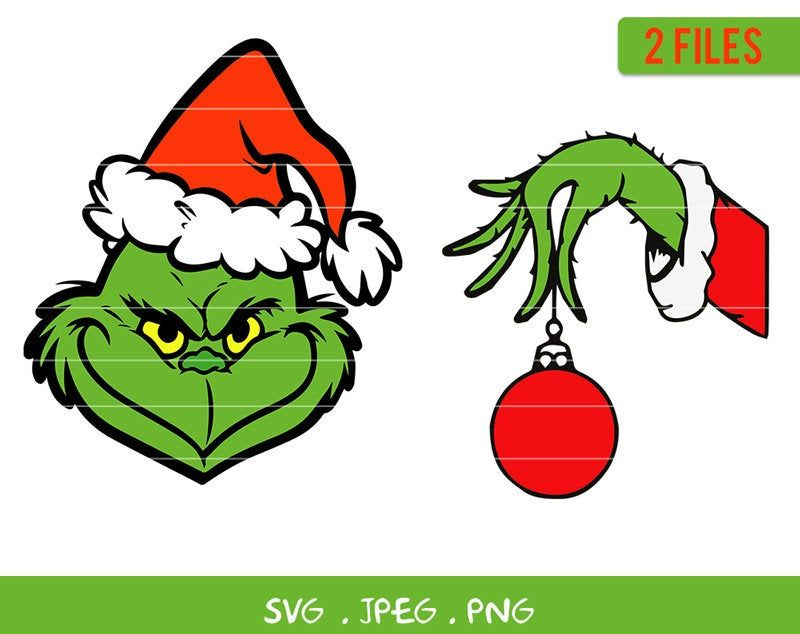 Christmas Grinch Face Svg Bundle Grinch Hand Christmas Etsy Grinch Face Svg Grinch Hands Grinch Christmas Decorations All grinch clip art are png format and transparent background. christmas grinch face svg bundle grinch