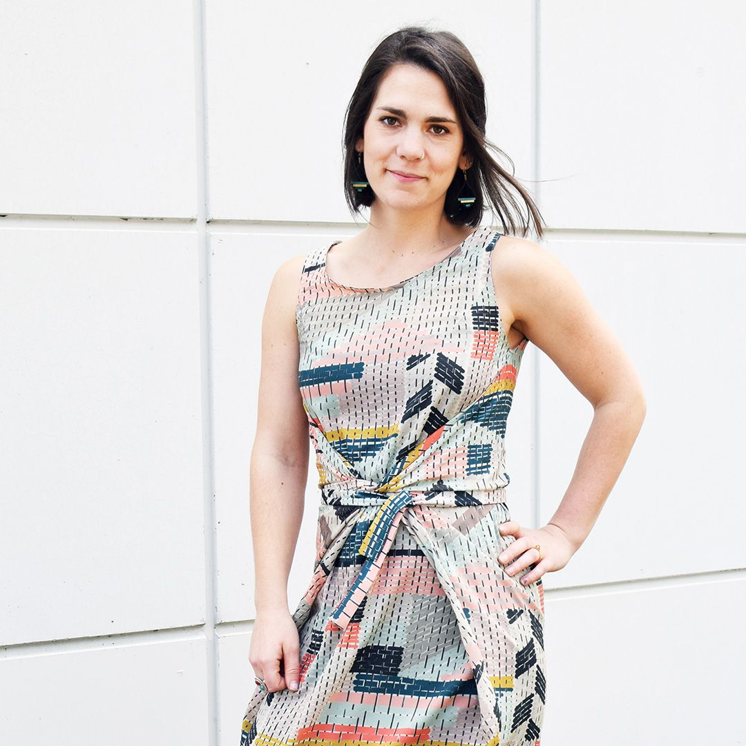 Kielo Wrap Dress | Homemade | Pinterest