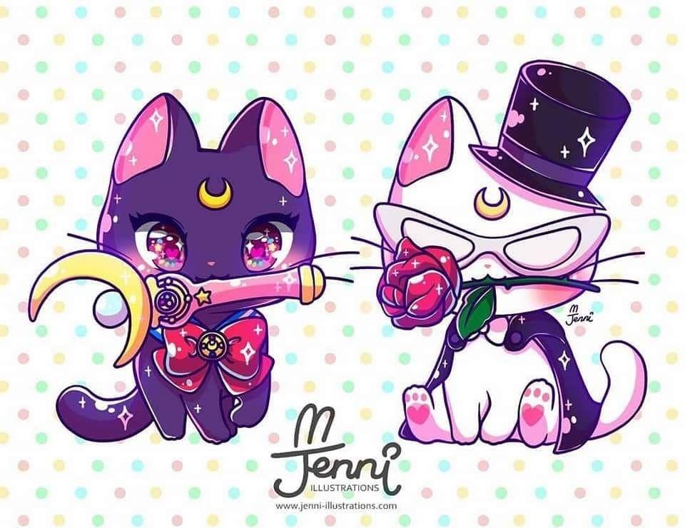 Pin De Violet En Sailor Moon Dibujos Kawaii Chibi Dibujos Animales Kawaii