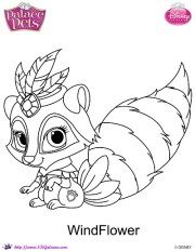 Princess Palace Pets Coloring Page Of Truffles Princess Coloring Pages Puppy Coloring Pages Disney Princess Coloring Pages