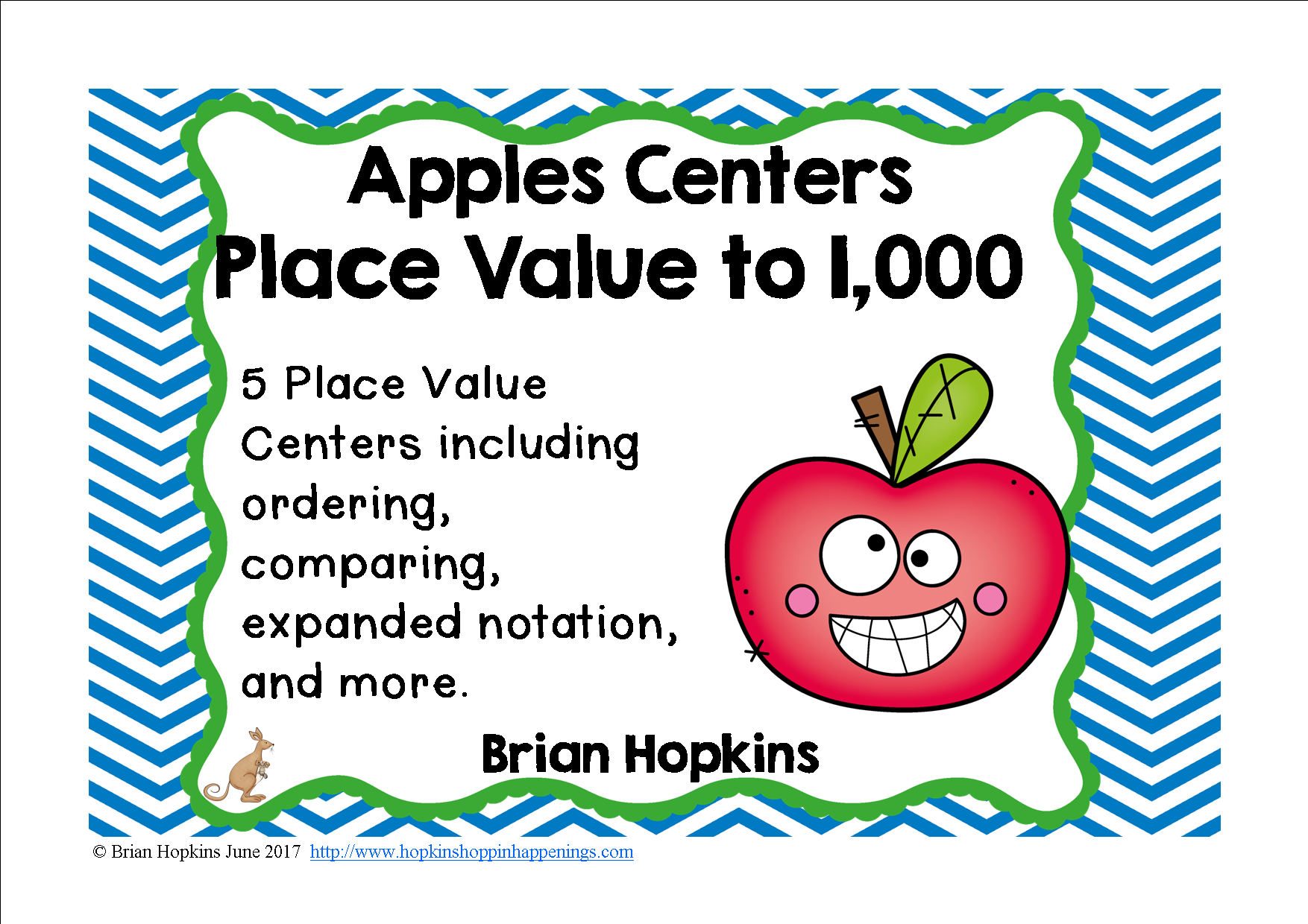 Apples Place Value To 1 000 Centers