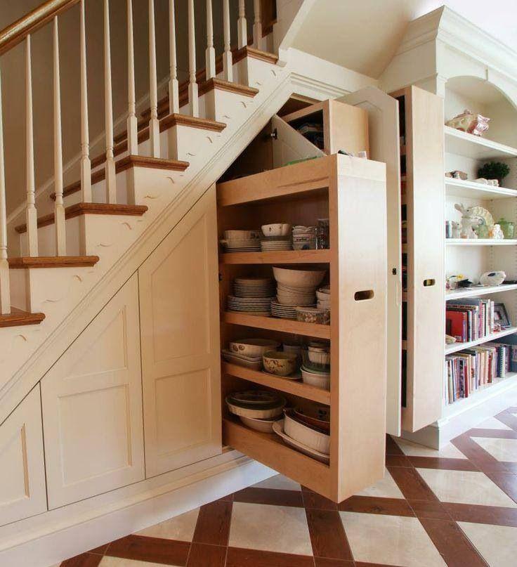 Basement Stairs Storage storage under the stairs in the basement | basement beauty