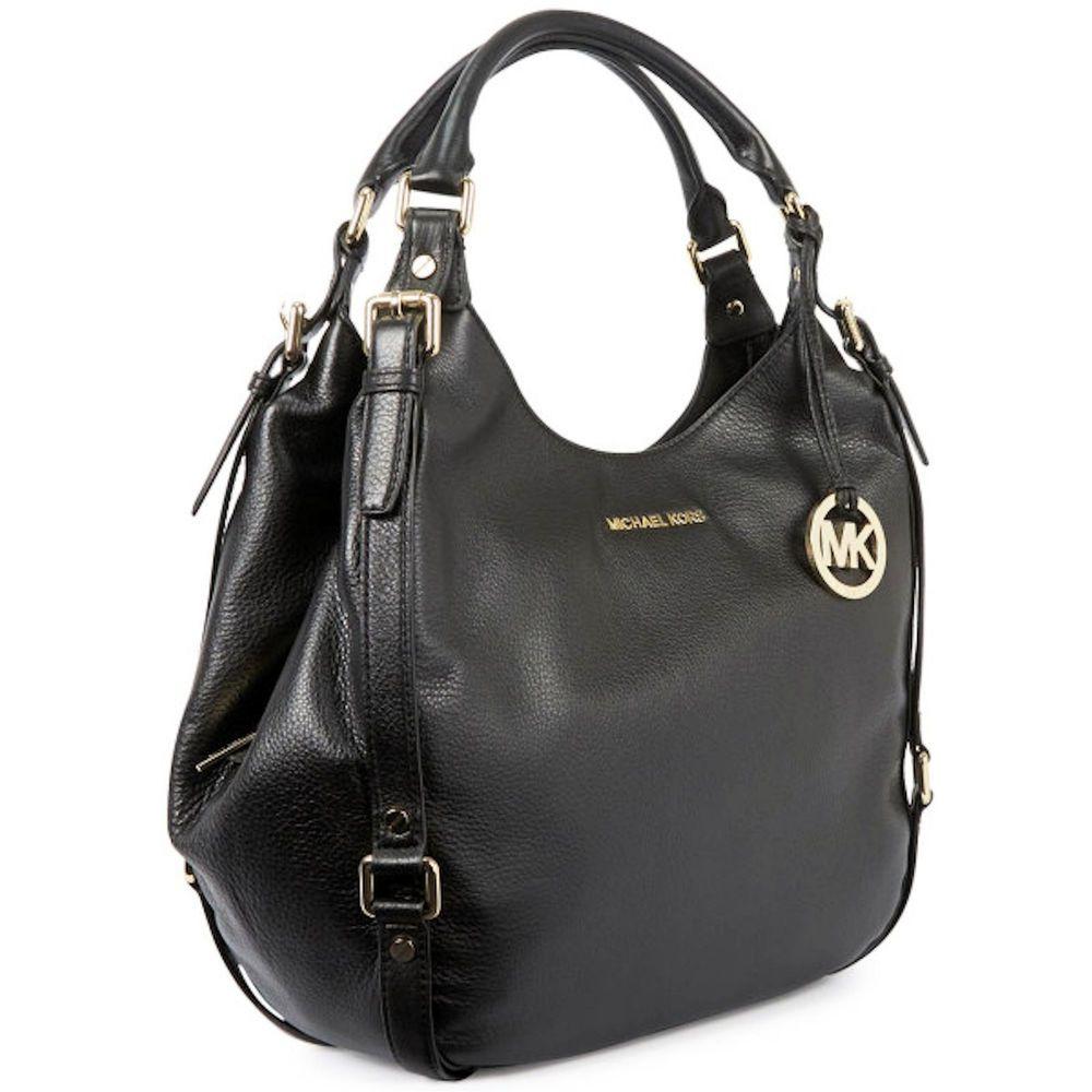 Michael Kors Womens Handbag Luggage Leather Bedford Shoulder Tote ...