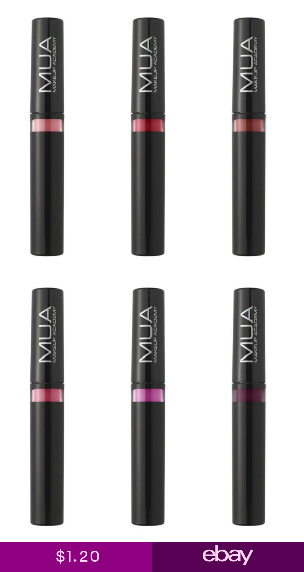MUA Makeup Academy High Shine All Day Lip Stain COMBINED