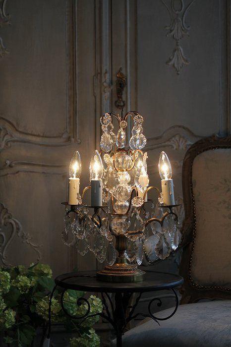 Beautiful Chandelier Style Table Lamp Beautiful Chandelier