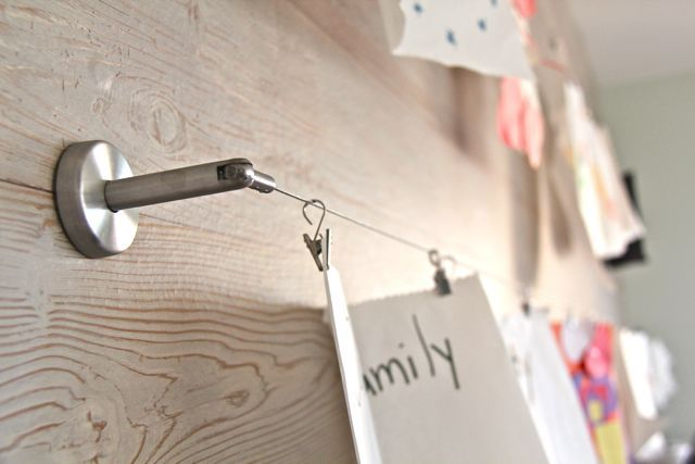Ikea Curtain Haning Clips Using Ikea S Deka Curtain Wire And