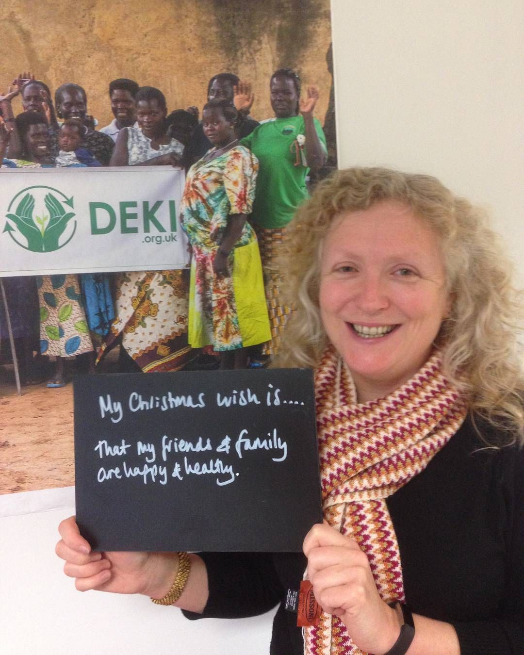 Mel the @deki_charity  CEO has a very personal #MyChristmasWish #Christmas #family #friends #GoodWishes