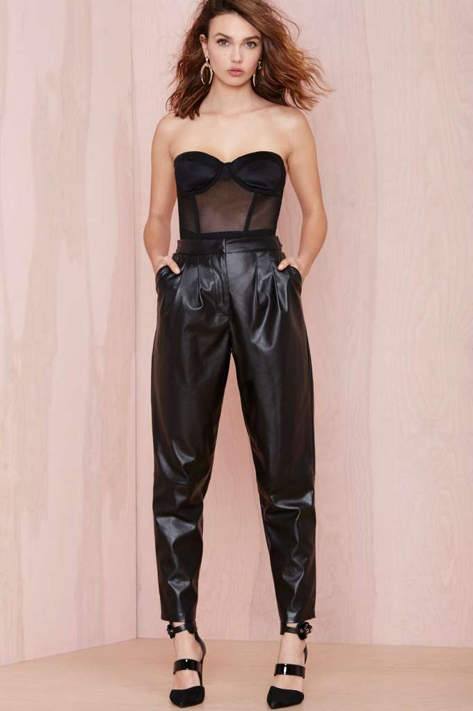 Slick Me Up Trouser with crop