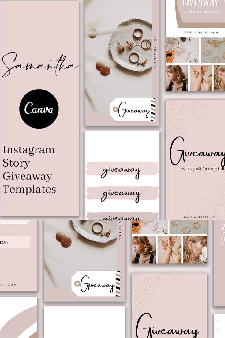 Samantha Instagram Story Templates
