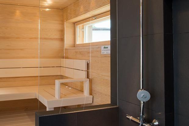 7 Passiivikivitalo Leija - Pesuhuone