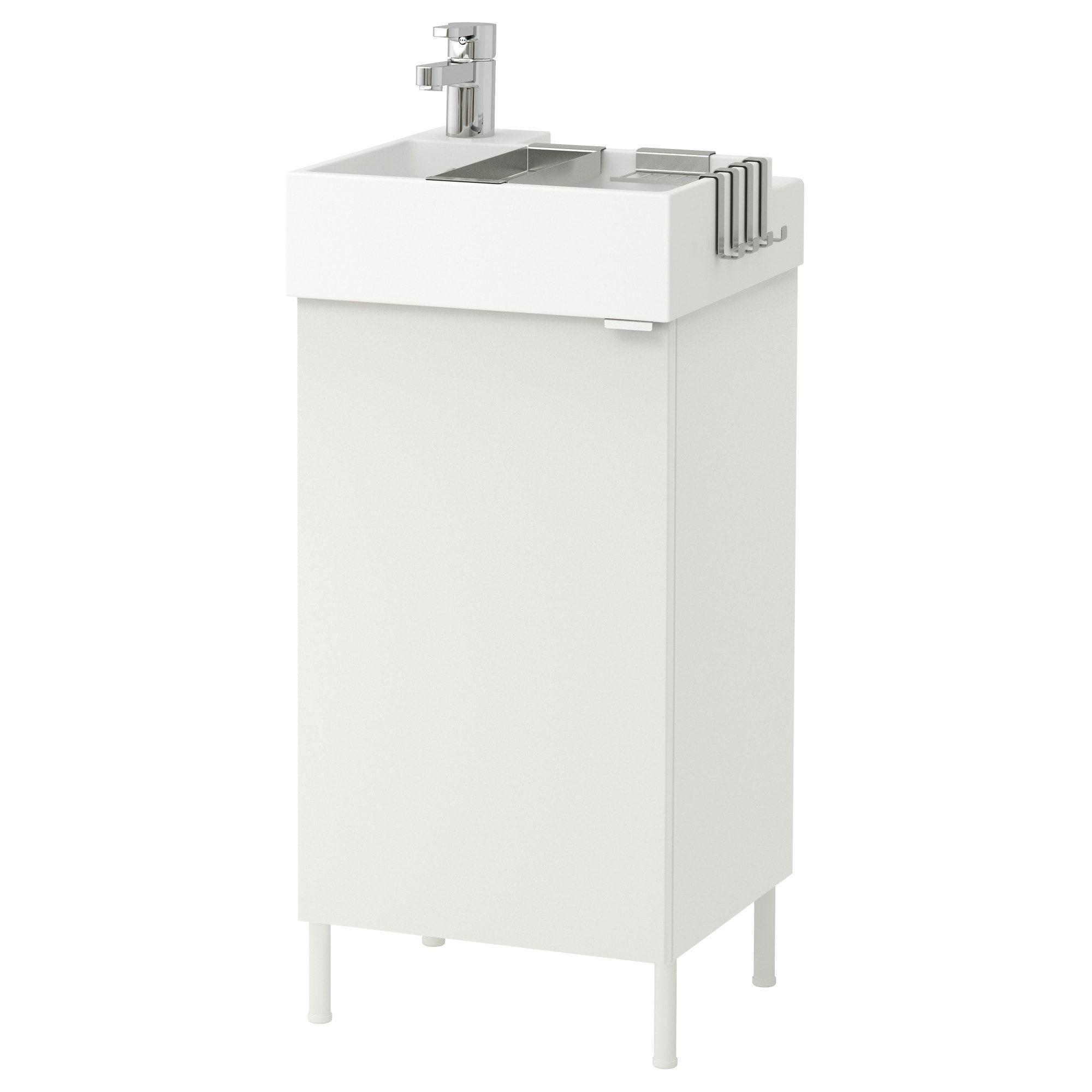 LILLÅNGEN Waschtischunterschrank mit 1 Tür   weiß, Ensen ...