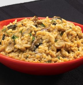 FOUR MUSHROOM RISOTTO. Refrigerated, ready-to-serve sides for our Fresh Solutions entrées. - M & M Meat Shops