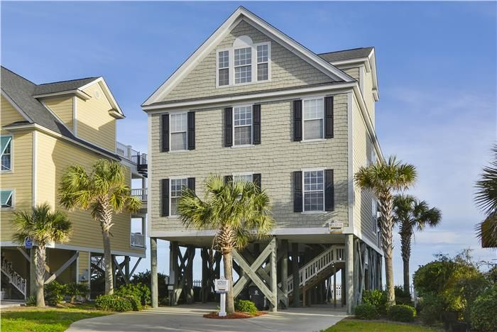 5 bedroom oceanfront beach house vacation rental in garden city rh pinterest at