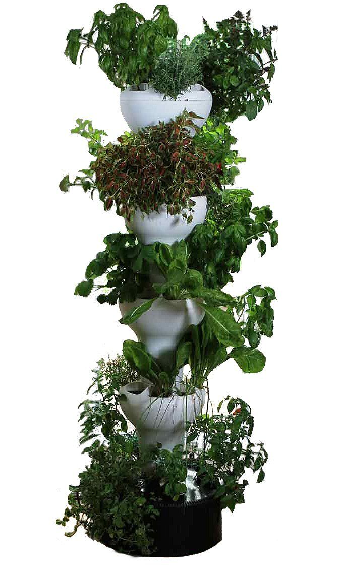 Foody 8 Hydroponic Tower Indoor/outdoor