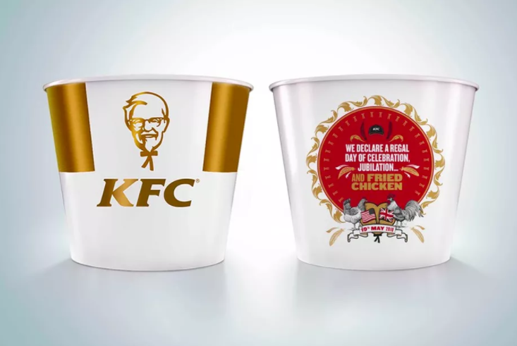 700ca1d0768 KFC Is Celebrating the Royal Wedding With a Special Bucket of Fried Chicken