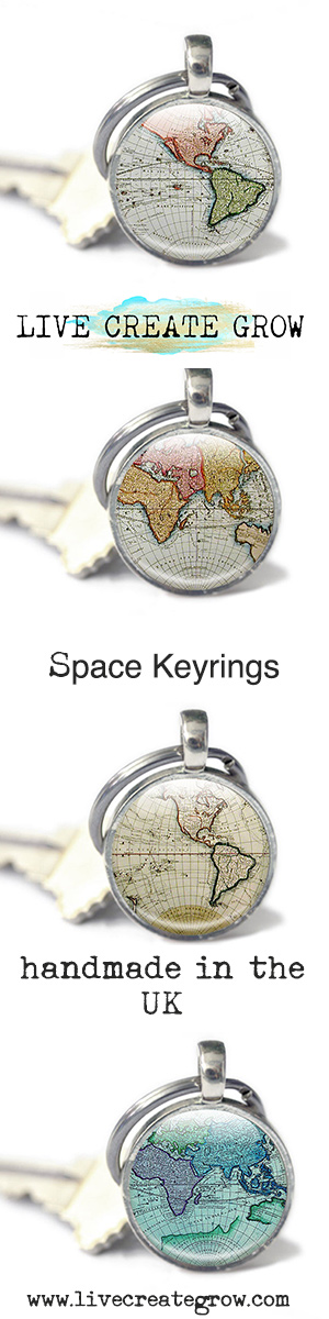 Map keyrings vintage globe keychains from glass charmed live map keyrings vintage globe keychains from glass charmed live create grow click here gumiabroncs Gallery