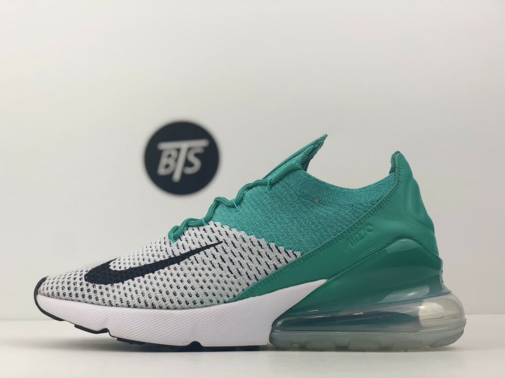 Womens Air Max 270 Flyknit Green Size 9 Cleat Emerald