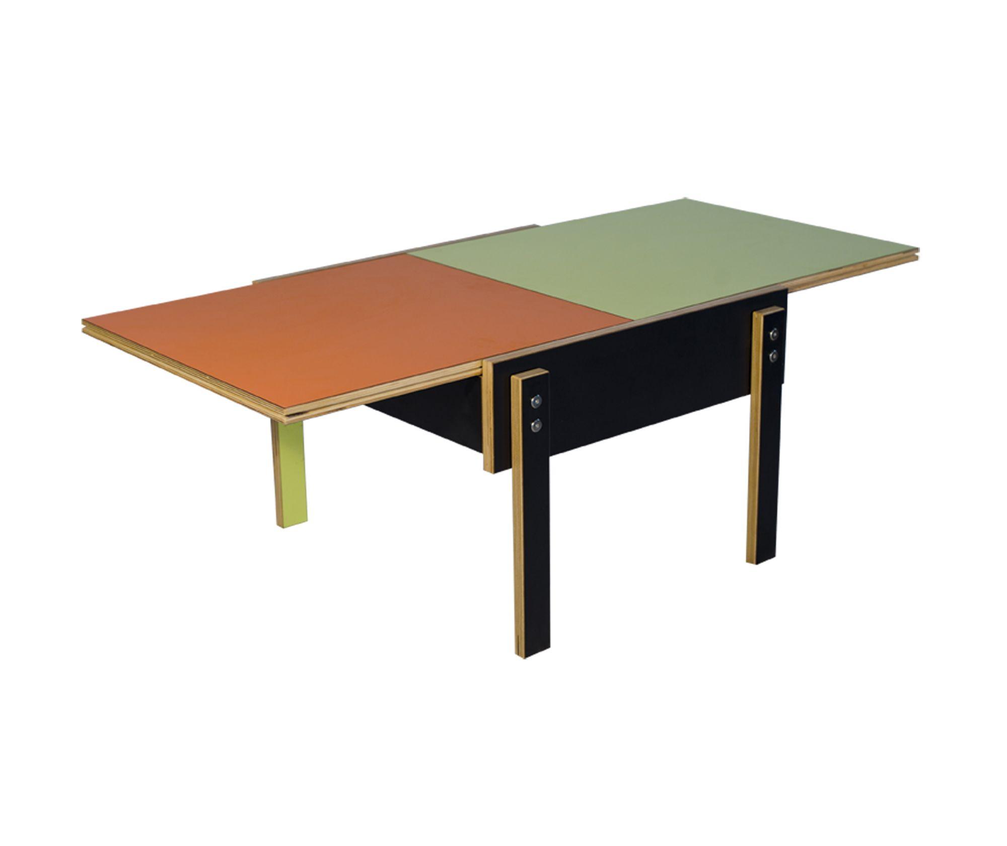 Good BLACK_ORANGE_CITRON SLIDER TABLE