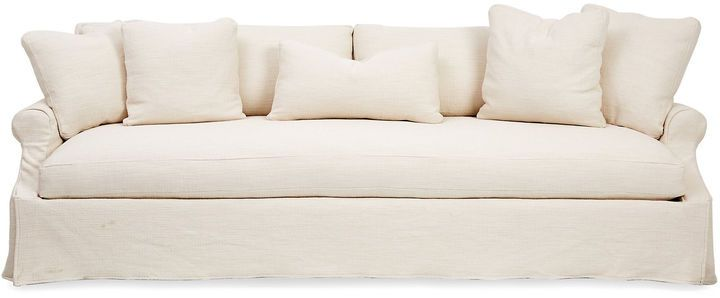 robin bruce bristol slipcovered sofa very stylish and practical rh pinterest com