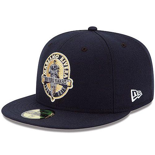 New York Yankees Mariano Rivera Retirement 59fifty Fitted Cap By New Era Mlb Com Shop New Era Cap Fitted Caps New Era