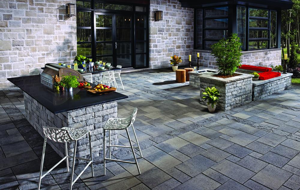 #transpave #betobloc #patio #backyard #stones #pavers