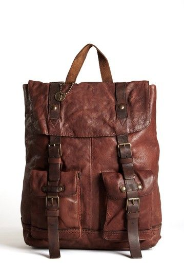Leather Ruck Sack