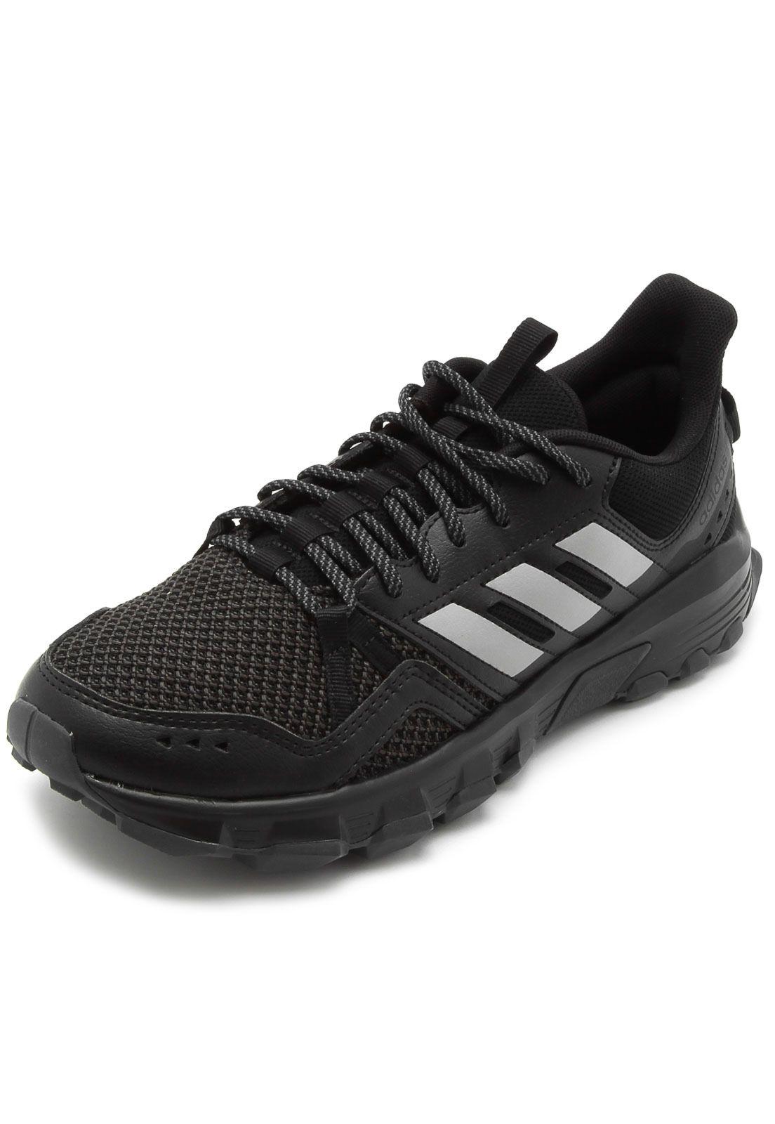 Tenis rockadia trail m   Tênis adidas preto, Tenis adidas e