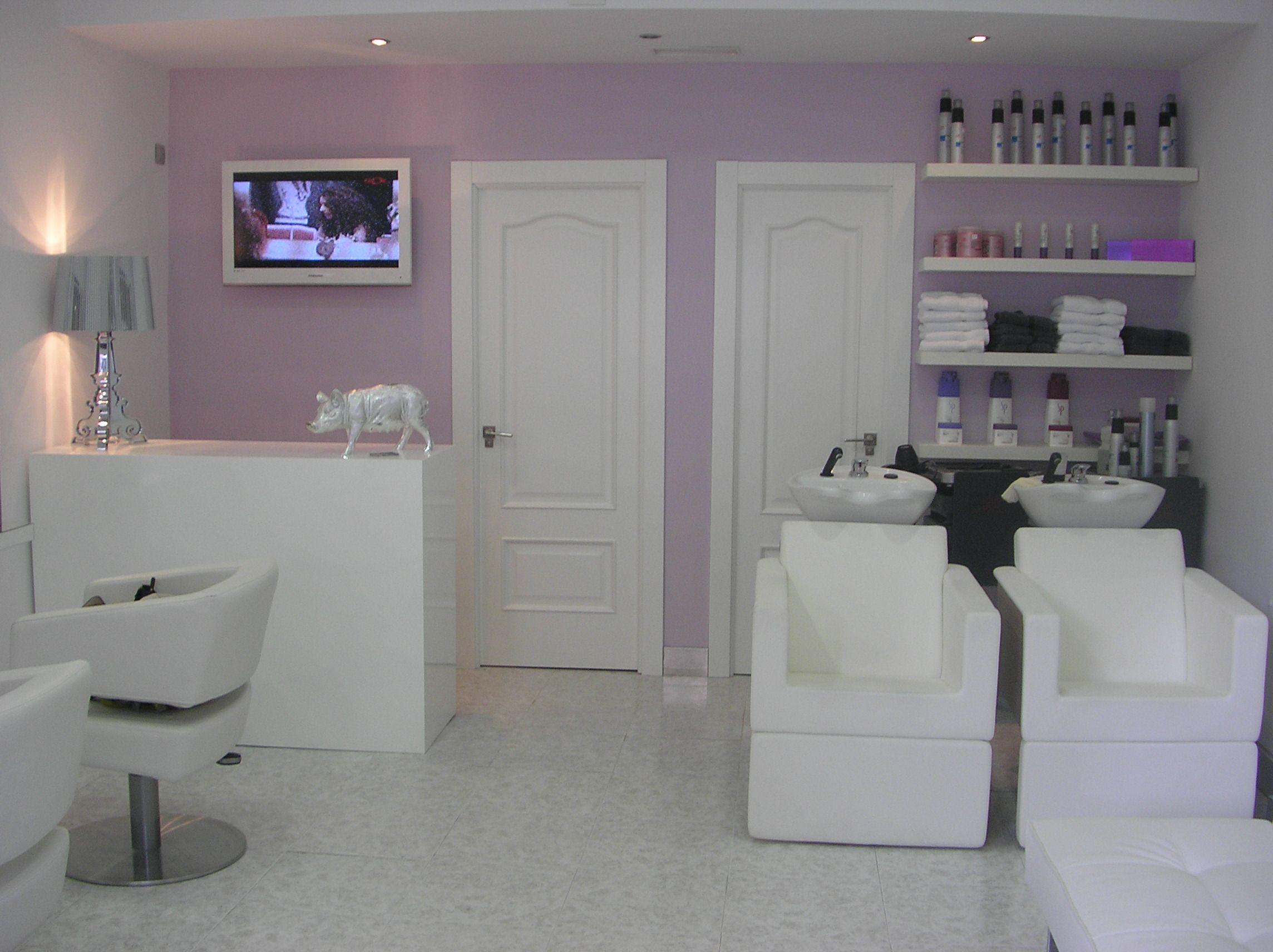 Proyecto peluqueria proyectos decoraci n interiorismomdr - Salones de peluqueria decoracion fotos ...