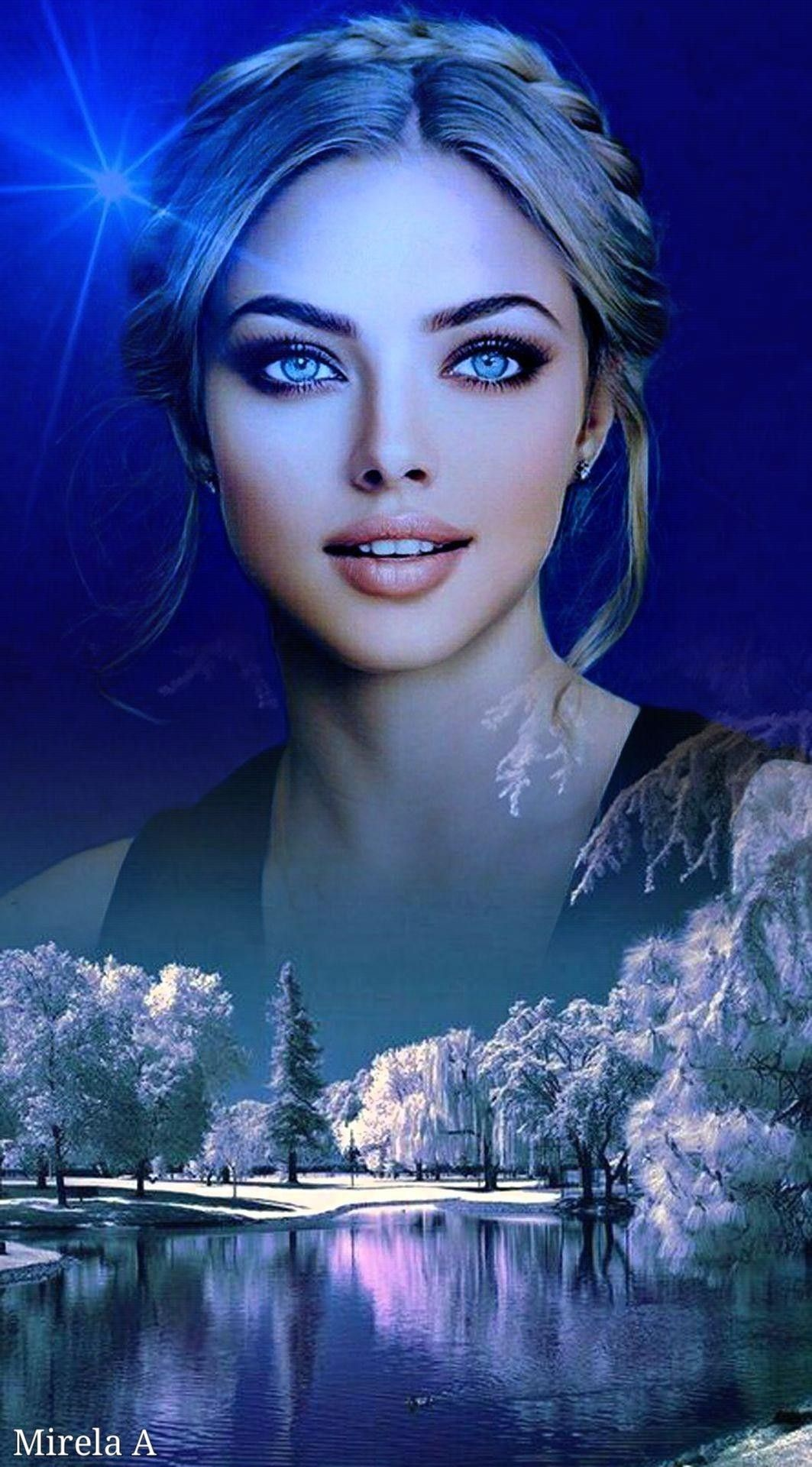 Pin By Ilap Hit On My Creations2 Mirela Anton Mirela A In 2021 Beautiful Art Paintings Fantasy Art Women Beauty Art