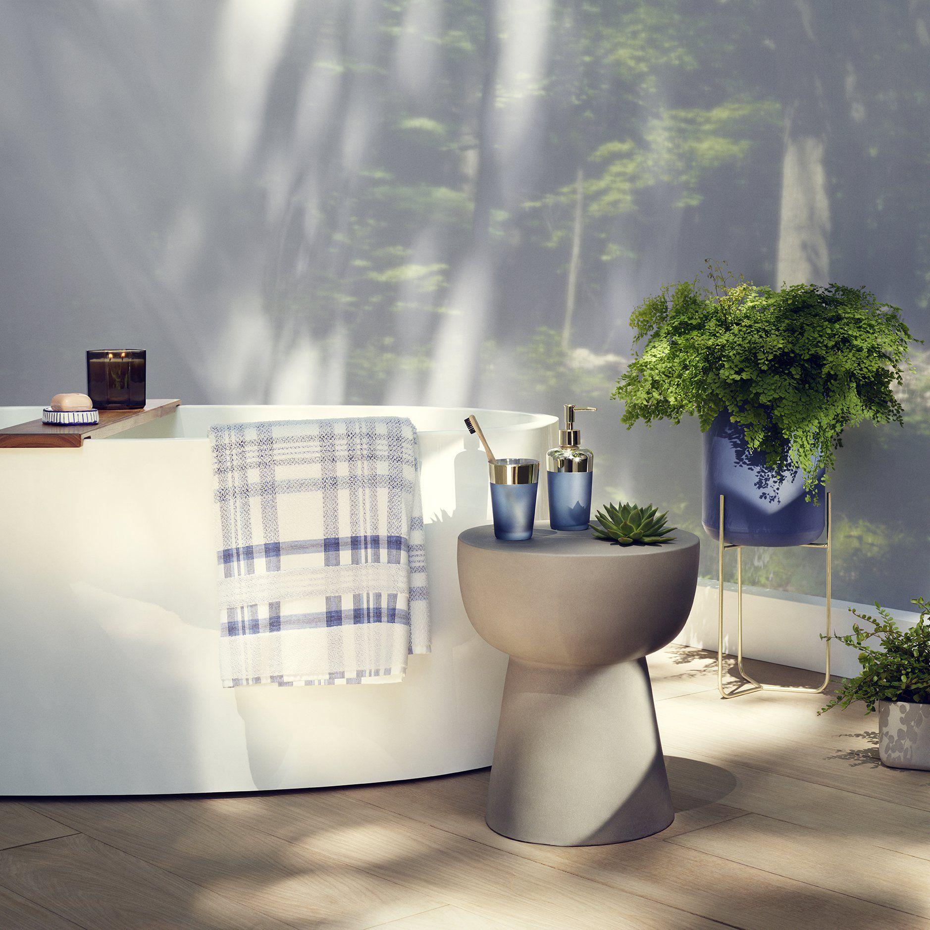 Des accessoires de salle de bains tendance design Zara Home ...