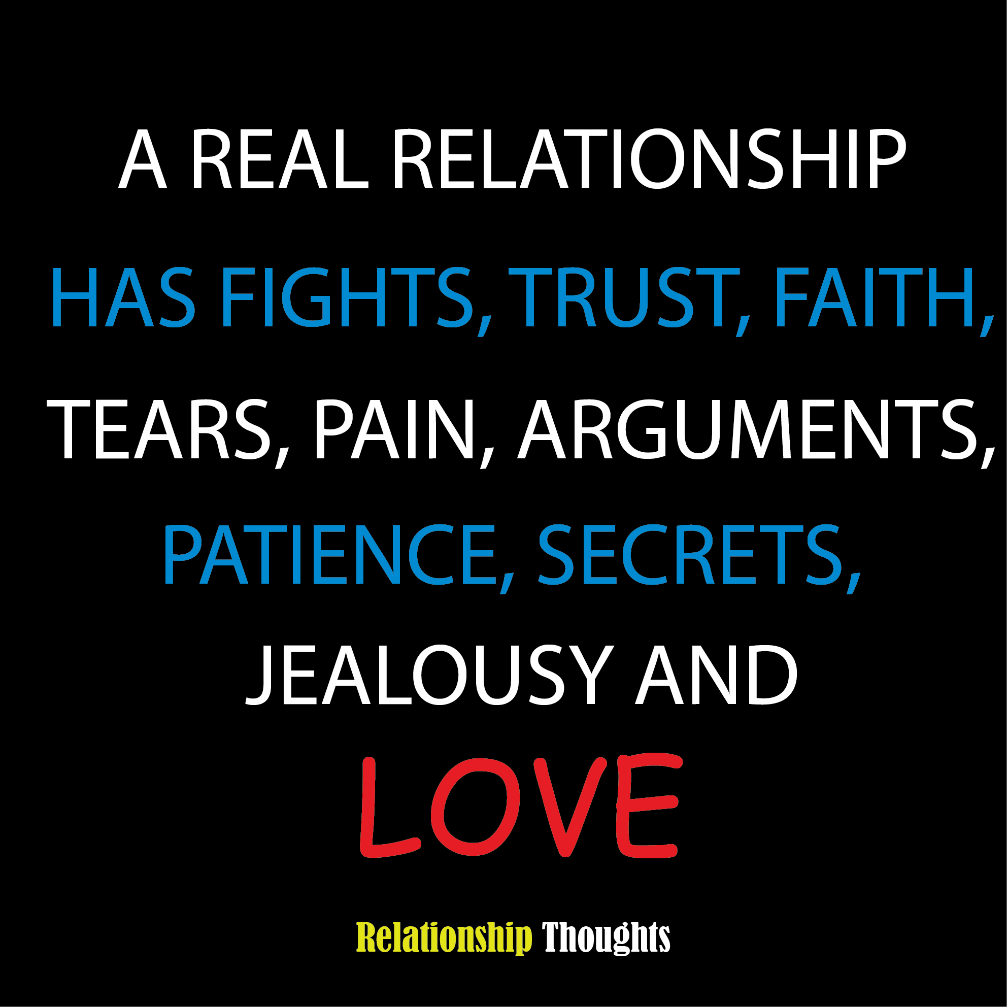 Love relationship thoughts
