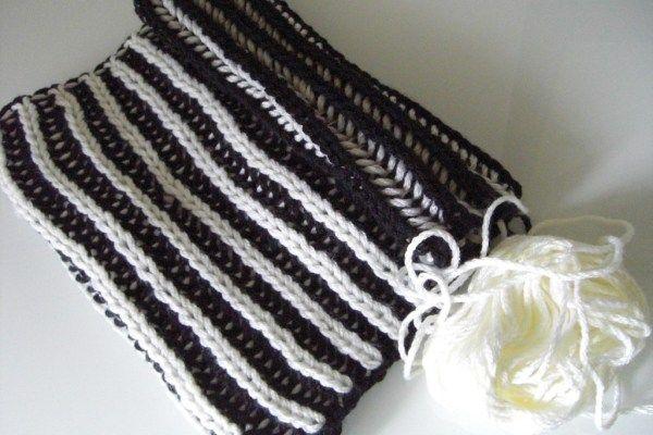 Photo of Patent pattern knitting instructions – patent knitting – patent pattern video