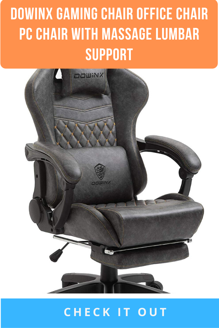Dowinx Gaming Chair Office Chair PC Chair with Massage