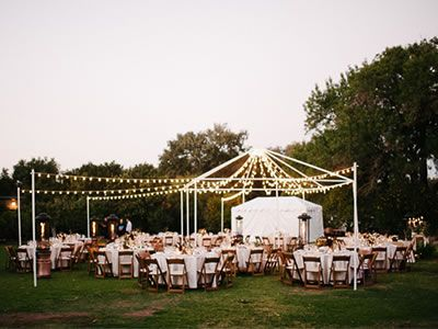 Outdoor Wedding Reception For Al Fresco Dining Colette S Catering Events Orange County Ca