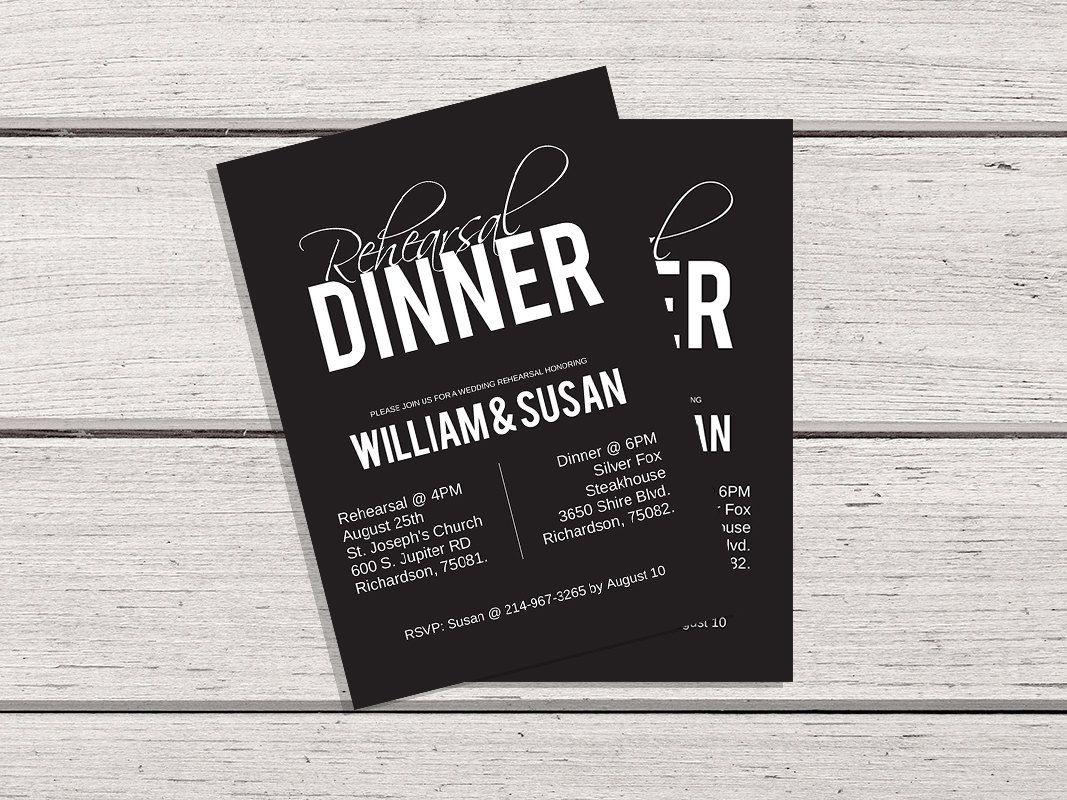 creative wording for rehearsal dinner invitations%0A Rehearsal Dinner Invitation Rehearsal Dinner Invitation