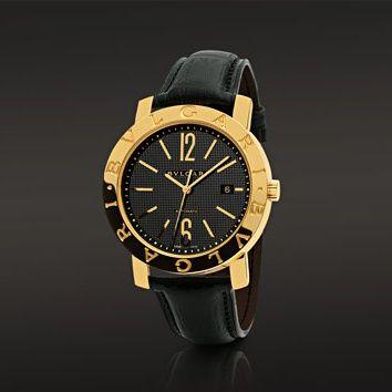 Bulgari Bvlgari Yellow Gold Ladies Watch Casse, Acier Inoxydable, Montre,  Bijoux Italien, f15a55de640