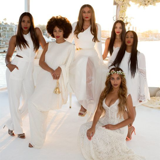 You Have To See The Photos Beyonce Shared Of Her Mom S Magical Wedding Tina Knowles Celebrity Weddings Mom Wedding