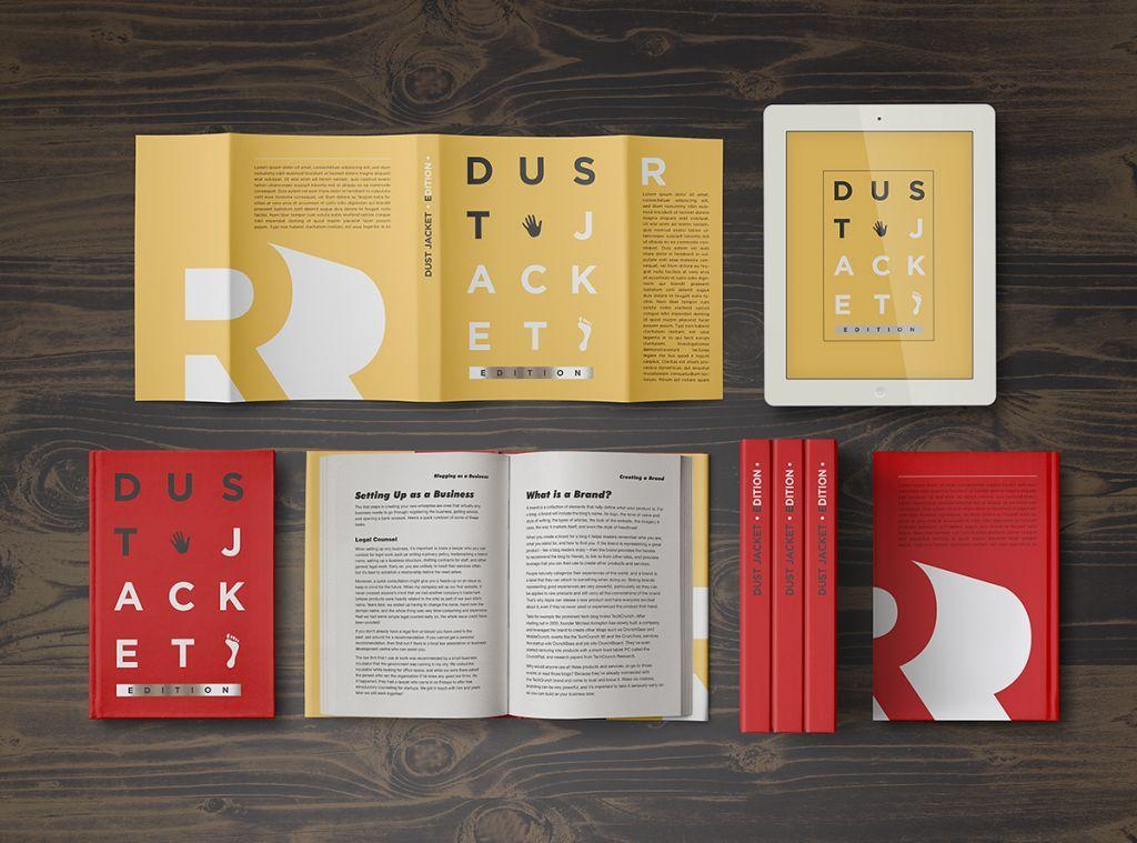 Book MockUp / Dust Jacket Edition PuneDesign Book