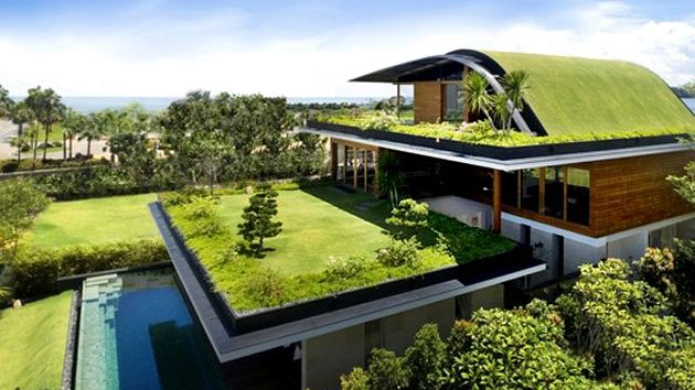 Ten Insights For Designing Eco Friendly Green Homes Home Design Lover Green Architecture Eco Architecture Architecture House