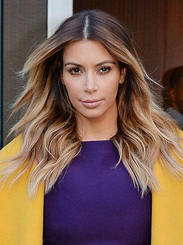 Kim Kardashian Haircut 2013