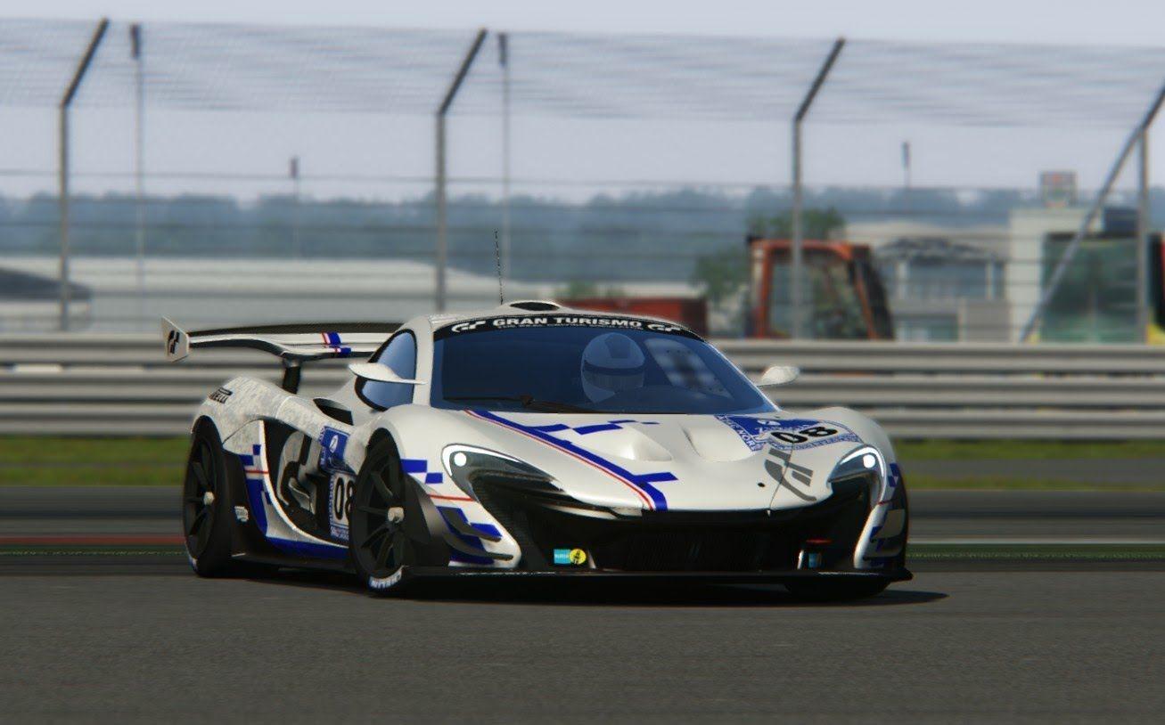 assetto corsa - mclaren p1 gtr at circuit silverstone | assetto