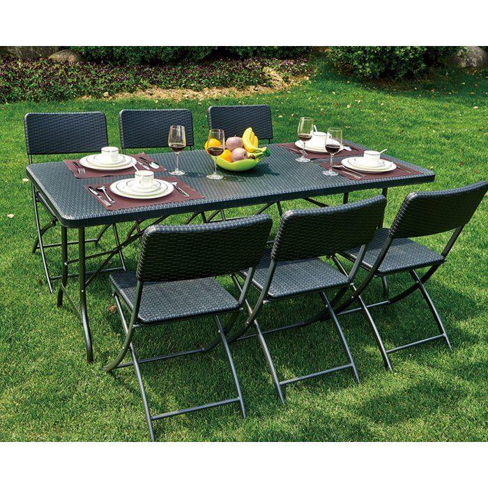 alisanne 6 seater dining set garden inspo dining table chairs rh pinterest com