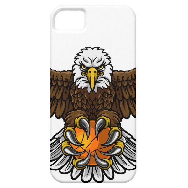 Eagle Basketball Sports Mascot iPhone SE/5/5s Case   Iphone se