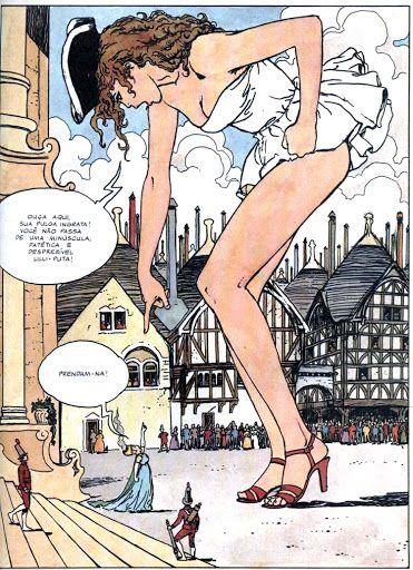 Erotic comics gullivera are