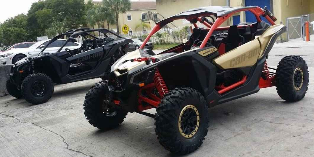 New 2017 CanAm Maverick™ X3 X rs Turbo R ATVs For Sale in