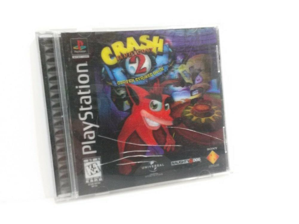 Crash Bandicoot 2 Cortex Strikes Back Ps1 Playstation Naughty Do We Sell It All Crash Bandicoot Crash Bandicoot 2 Bandicoot