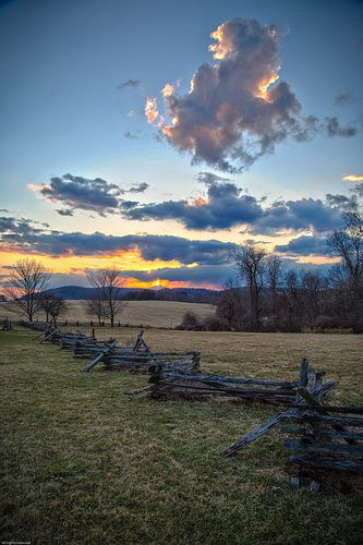 Sunset Valley Forge Wonders Of The World National Parks