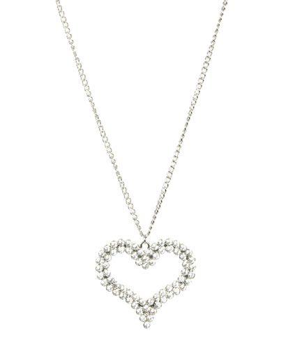 Double Row Pendant Necklace